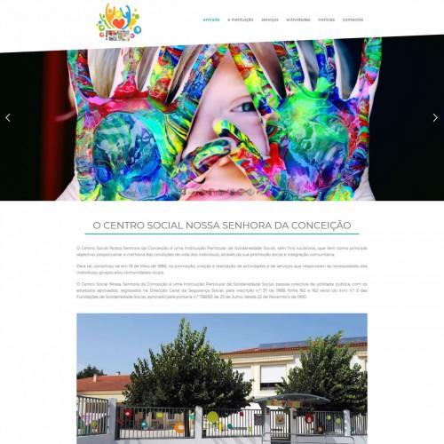 O novo site do CSNSC está online